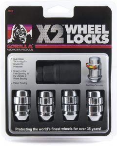 Chrome Wheel Locks Kit