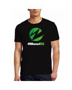 WheelXL Black T-Shirt W/Logo